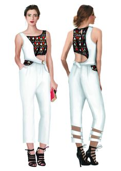 Fashion illustration Melissa Cruz