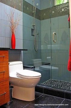 Very Small Bathroom Design | Very Small Bathroom Remodel - contemporary - bathroom - seattle - by ...like this layout-not colors