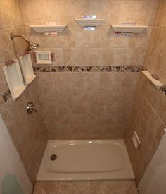 Recessed Bathroom Tile Niches Traditional Bathtubs Dc Metro By Shower