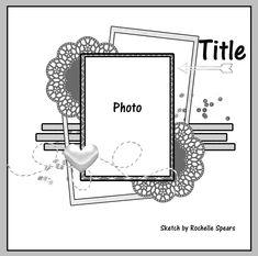 layout sketch 2019 layout sketch The post layout sketch 2019 appeared first on Scrapbook Diy. School Scrapbook Layouts, Scrapbook Generation, Scrapbook Layout Sketches, Scrapbook Organization, Scrapbook Templates, Card Sketches, Scrapbooking Layouts, Disney Scrapbook, Baby Scrapbook