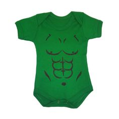 Body infantil do Hulk