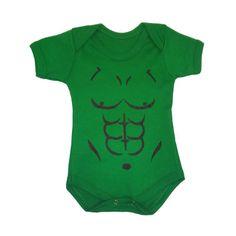 Body infantil do Hulk