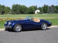 1954 Jaguar XK-120SE Supersport. Lease a Jaguar with Premier Financial Services today. #Jaguar #Lease #JaguarLease