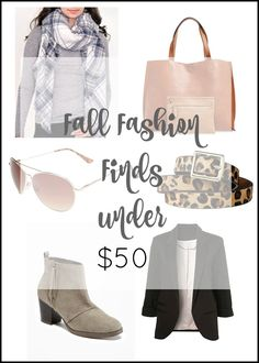 Add these inexpensive fashion finds to your current basics (jeans, t-shirts) for a fresh Fall look! All but one are less than $30 with free shipping.