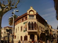 Modernisme: Casa museu de Lluís Domènech i Montaner. Canet de Mar ( El Maresme )