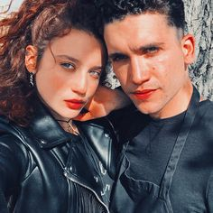 Maria Pedraza and Jaime Lorente (Marina and Nano) Elite Best Tv Couples, Tv Show Couples, Cute Couples, Series Movies, Tv Series, Elite Squad, Famous In Love, Draw On Photos, About Time Movie