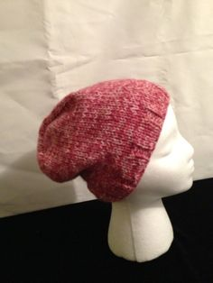 Pink winter hat by 1finedesign on Etsy, $15.00