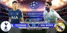 Prediksi Tottenham Hotspur vs Real Madrid 2 Nov 2017