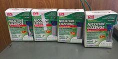 Gum and Lozenges: 4 Cvs Mini Nicotine Lozenge 4Mg. Mint 324 Lozenge Total. Read Description -> BUY IT NOW ONLY: $59.99 on eBay!
