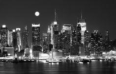Dutch Fotobehang New York Zwart Wit