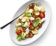 Orecchiette mit Cherrytomaten und Ricotta - Rezept - Saisonküche