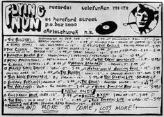 Flying Nun Records, Hereford Street, Christchurch, New Zealand