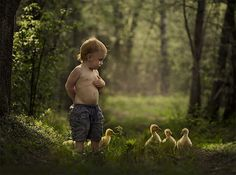 Mother's Intimate Photographs Capture Her Sons' Special Bond with Animals