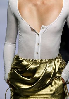 Altuzarra gold skirt #outfit #fashion #style #gold // December