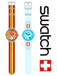 Swatch watch...Mine was white with grey paisleys on the face...Loved that watch!