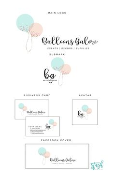 excited to share the latest addition to my etsy shop balloons logo design balloons and confetti logo party planner logo event planner logo baby boutique logo e - The world's most private search engine Boutique Logo, Baby Boutique, Studio Logo, Graphisches Design, Graphic Design, Design System, Vintage Carpet, Balloon Logo, Wordpress Theme
