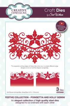 http://www.ebay.fr/itm/CREATIVE-EXPRESSIONS-Craft-Dies-Rubber-Stamps-by-Sue-Wilson-Festive-2016-/142047363176?var=