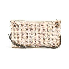 The Row Mother-of-pearl embellished shoulder bag (€2.315) ❤ liked on Polyvore featuring bags, handbags, shoulder bags, multi, the row purse and the row handbags