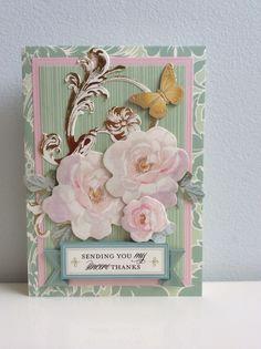 2015 Anna Griffin Garden Window Card Kit, butterfly is a Martha Stewart sticker