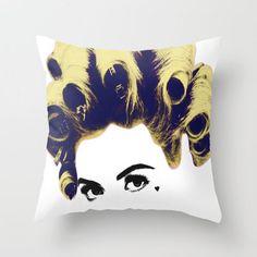 Marina and the diamonds Throw Pillow by Devon Jack | Society6