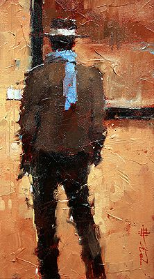 Andre Kohn's work with the pallet knife is really great.