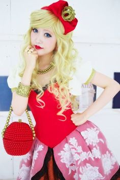 Apple White from Ever after high cosplay -