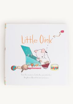 "Little Oink is a neat little pig who loves to clean, but Mama and Papa Pig won't have it! They say in order to be a proper pig he has to learn to make a proper mess. ""Don't come out until your room is a pigsty,"" says Papa Pig. ""I won't have any child of mine going out looking so neat and clean. It's just not acceptable,"" says Mama Pig. Little ones and adults alike will love this humorous twist on a universal dilemma. By Amy Krouse Rosenthal and Jen Corace."