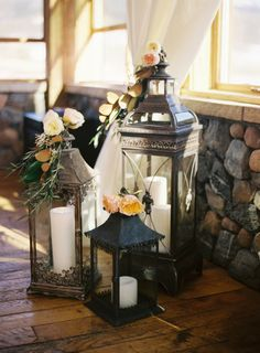 Lovely rustic #wedding ceremony decorations ~ A&A Photography, Alexan Events | bellethemagazine.com