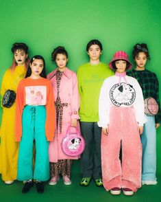 Look Fashion, 90s Fashion, Retro Fashion, Fashion Outfits, Womens Fashion, Fashion Design, Look Cool, Cool Style, Mode Punk