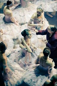 I love how this looks like a Degas painting...