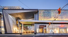 CF Rideau Centre on Behance - Shopping Mall Architecture, Retail Architecture, Commercial Architecture, Modern Architecture, Entrance Design, Facade Design, Exterior Design, Building Exterior, Building Facade