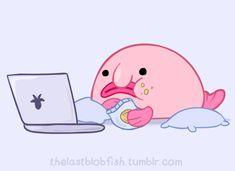 blobfish swimming - ค้นหาด้วย Google