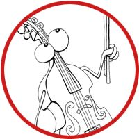 Musical Instrument coloring pages!