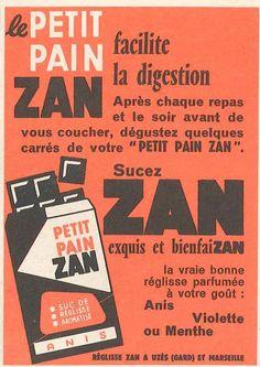 Petit pain Zan - Constellation, novembre 1959……reépinglé par Maurie Daboux….ღ. ¸.•*¨
