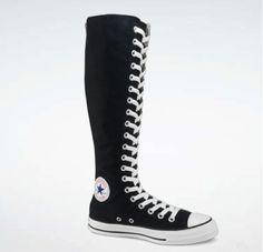 high high converse shoes