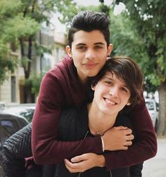 Erick y Christopher