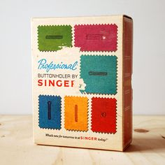 Vintage Singer Professional Buttonholer V102878 Sewing Supplies. $18.00, via Etsy.