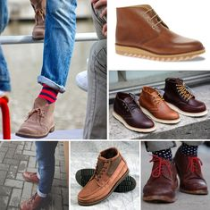Instead: trade your staid cushioned insoles for a quality pair of brown leather boots or oxfords. | 10 Signs It's Time To Update Your Wardrobe
