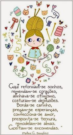 - by Cris Figueired♥ Sewing Art, Sewing Patterns, Spiritual Messages, Real Friends, Craft Materials, Sign Quotes, Crochet, Patches, Clip Art