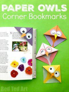 215 Best Diy Bookmark Crafts Images In 2019 Corner Bookmarks