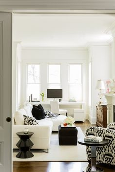 As Part Of An Overall Renovation LDa Was Brought On Board To Define Interior Design ConceptsWhite
