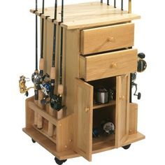 Cabela's 10-Rod Cabinet Rack at Cabela's @Lisa Wilson for dad for christmas...or to make