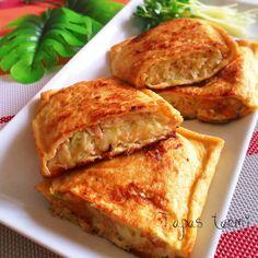 ♡チーズとろ〜り!キャベツとツナのお揚げさん♡レシピ有