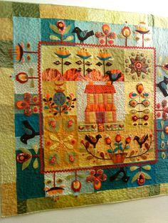 lainage et feutrine folk art