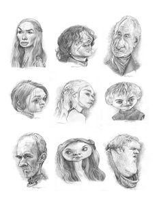 Game Of Thrones Art on Behance