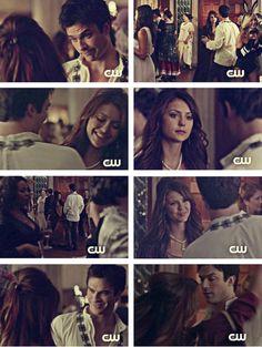 The Vampire Diaries ~ Damon Salvatore ~ Elena Gilbert ~ TVD