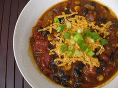The Ordinary Vegetarian: Pumpkin Black Bean Chili. I used Long Trail Harvest Barn Ale, which is quite good.