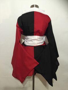 Harley Quinn Kimono Dress by skycreation on Etsy