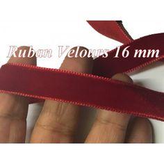 ruban de velours 16 mm
