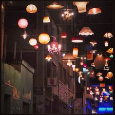 ...the night streets!